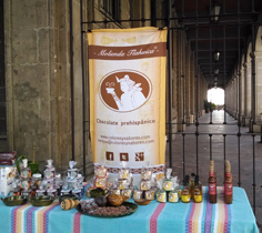 Molienda Tlahuica Chocolate Prehispánico.