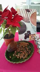 Cacao y Nochebuena.